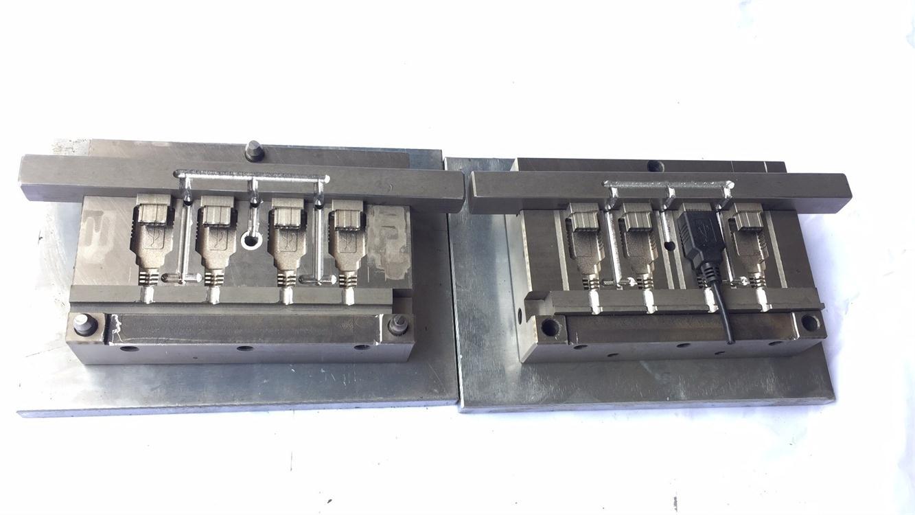 凤岗USB母头成型模具